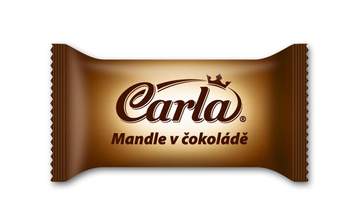 Značka Mandle v čokoládě