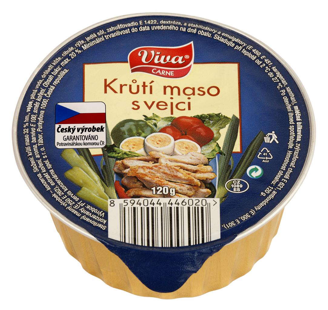 Značka Viva maso krůta vejce_01