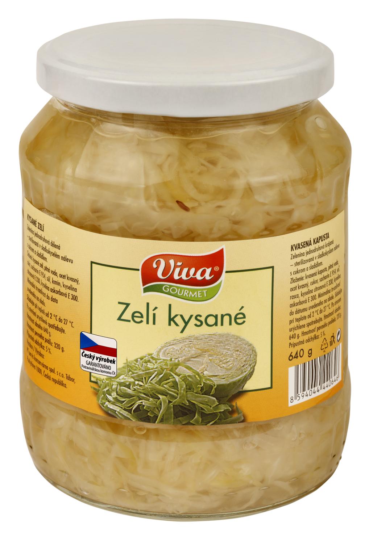 Značka Viva zelí kysané_01
