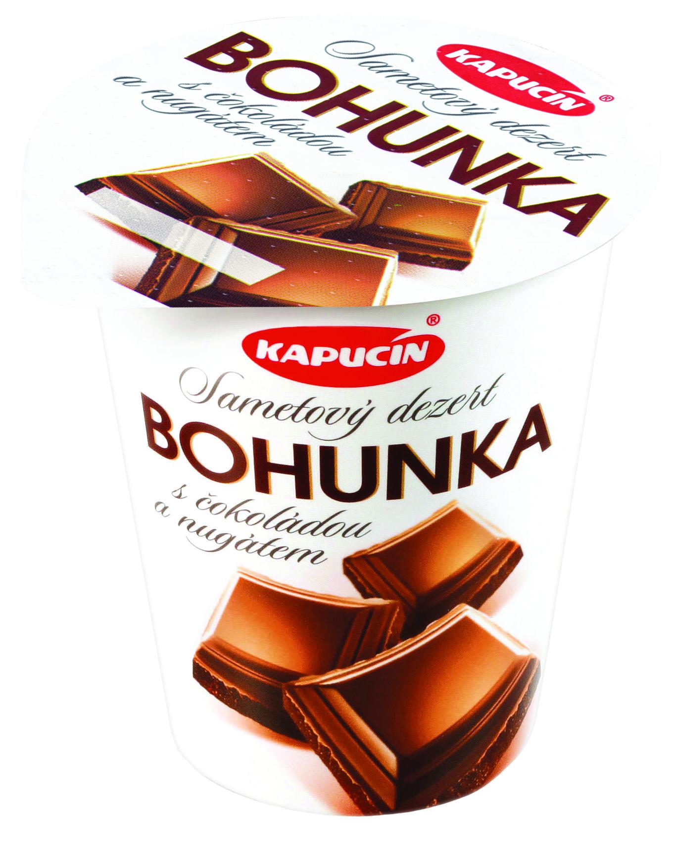Značka Bohunka s čokoládou a nugátem 130g