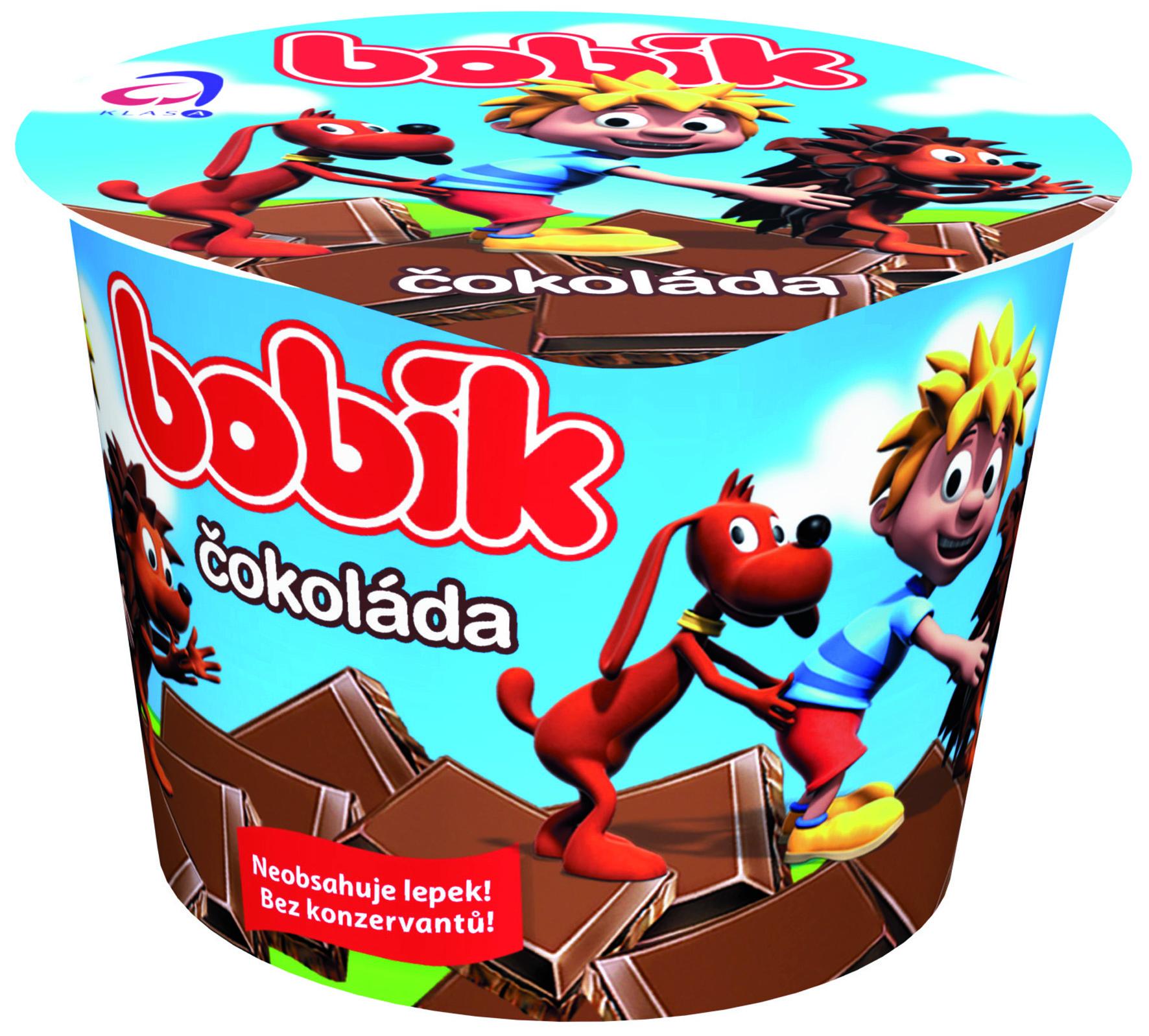 Značka Bobík čokoláda