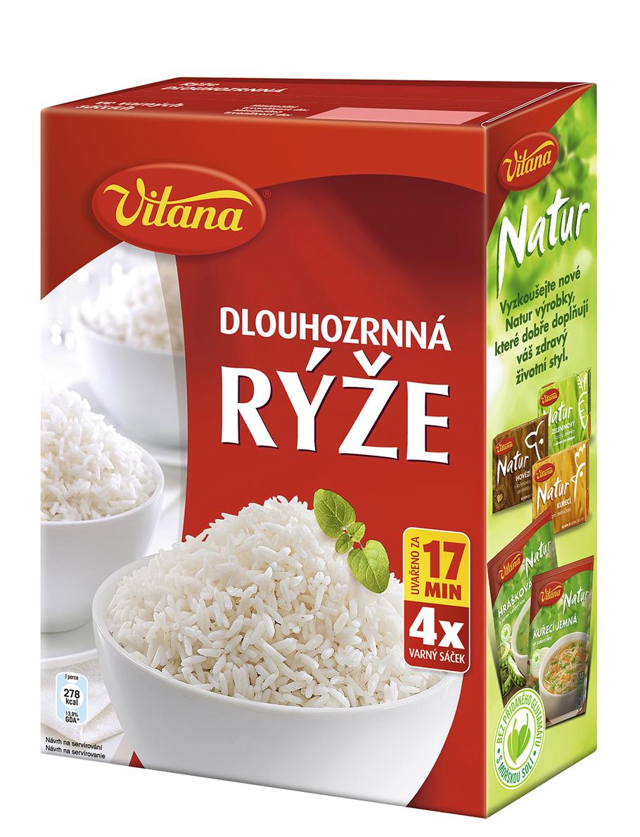 Značka Rýže dlouhozrnná