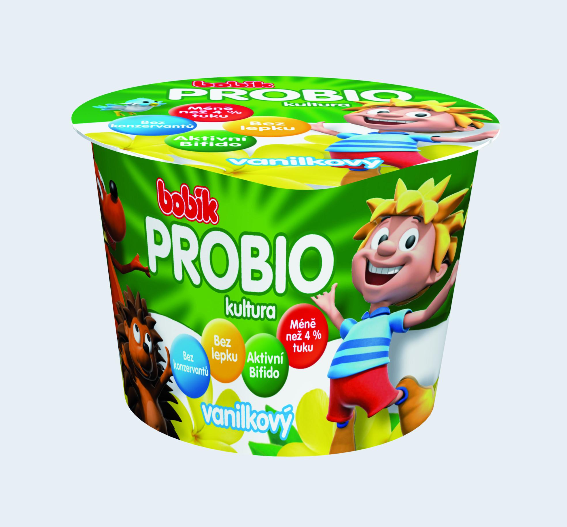 Značka Bobík ProBio vanilkový