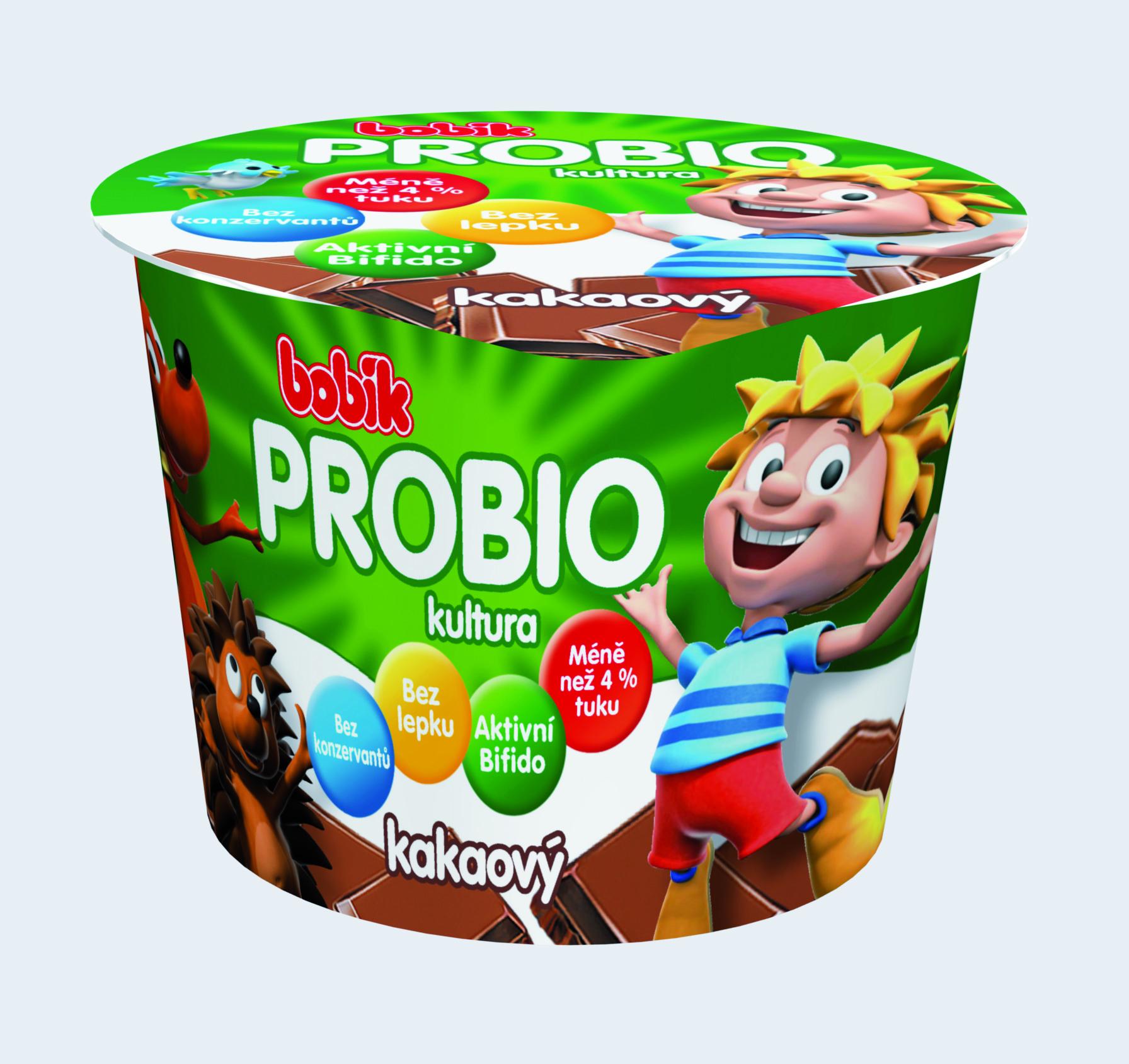 Značka Bobík ProBio kakaový