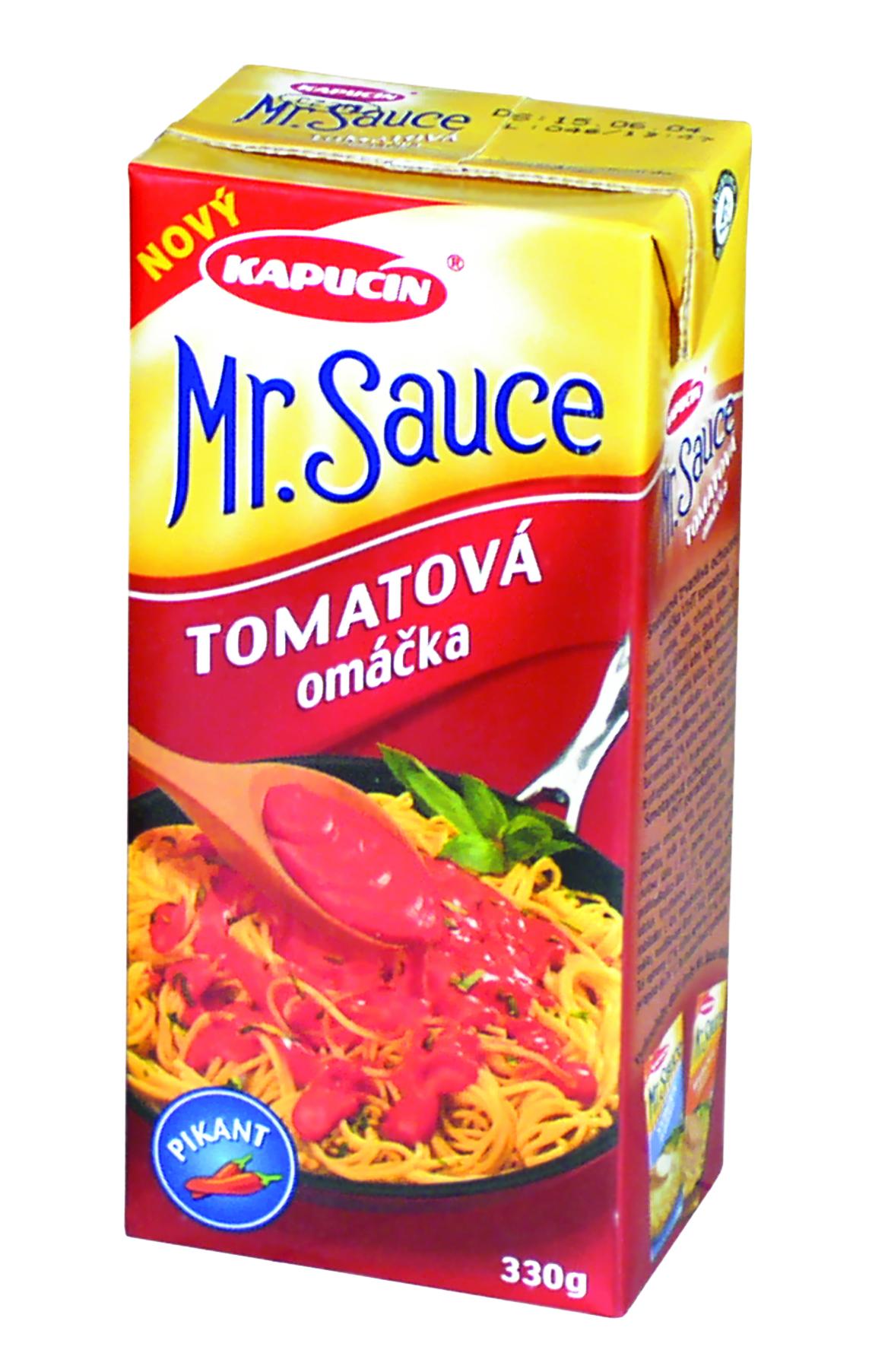 Značka Tomatová omáčka