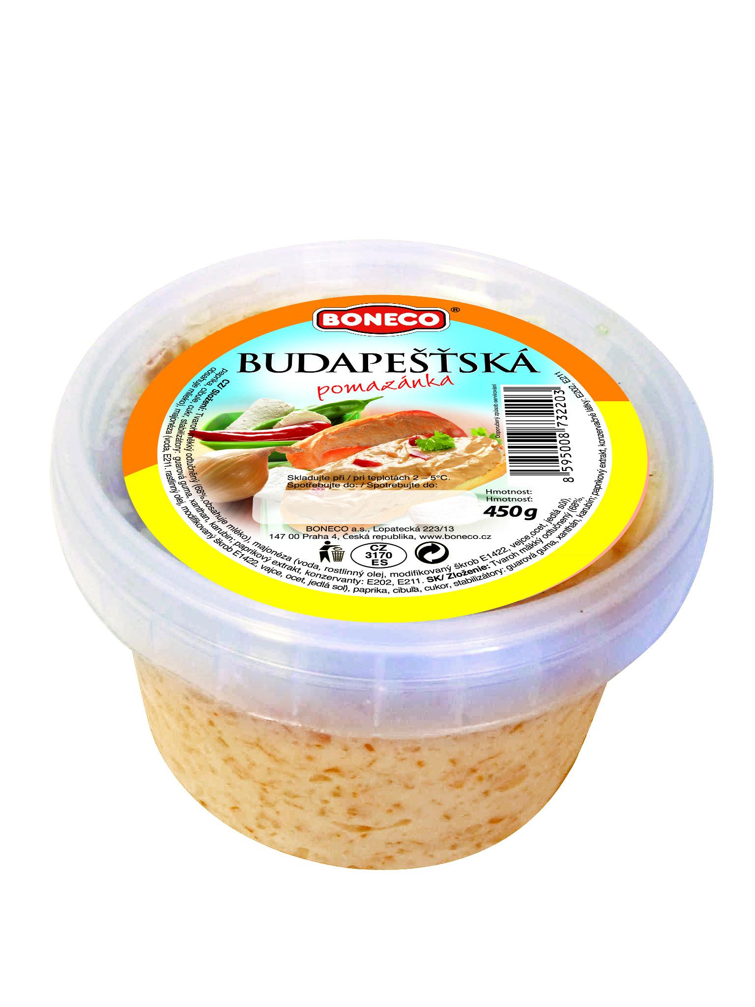 Značka Budapešťská pomazánka_2