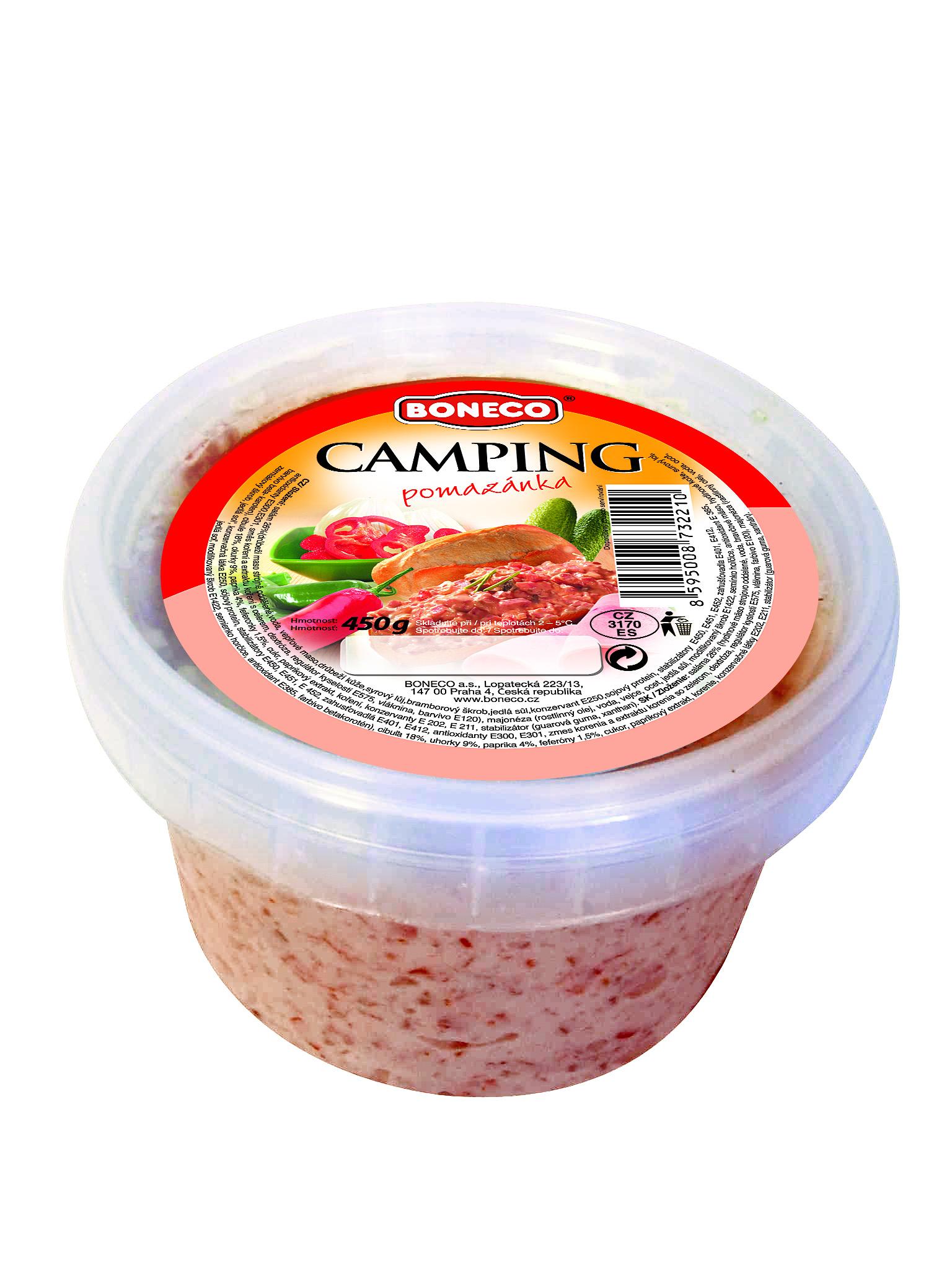 Značka Camping pomazánka