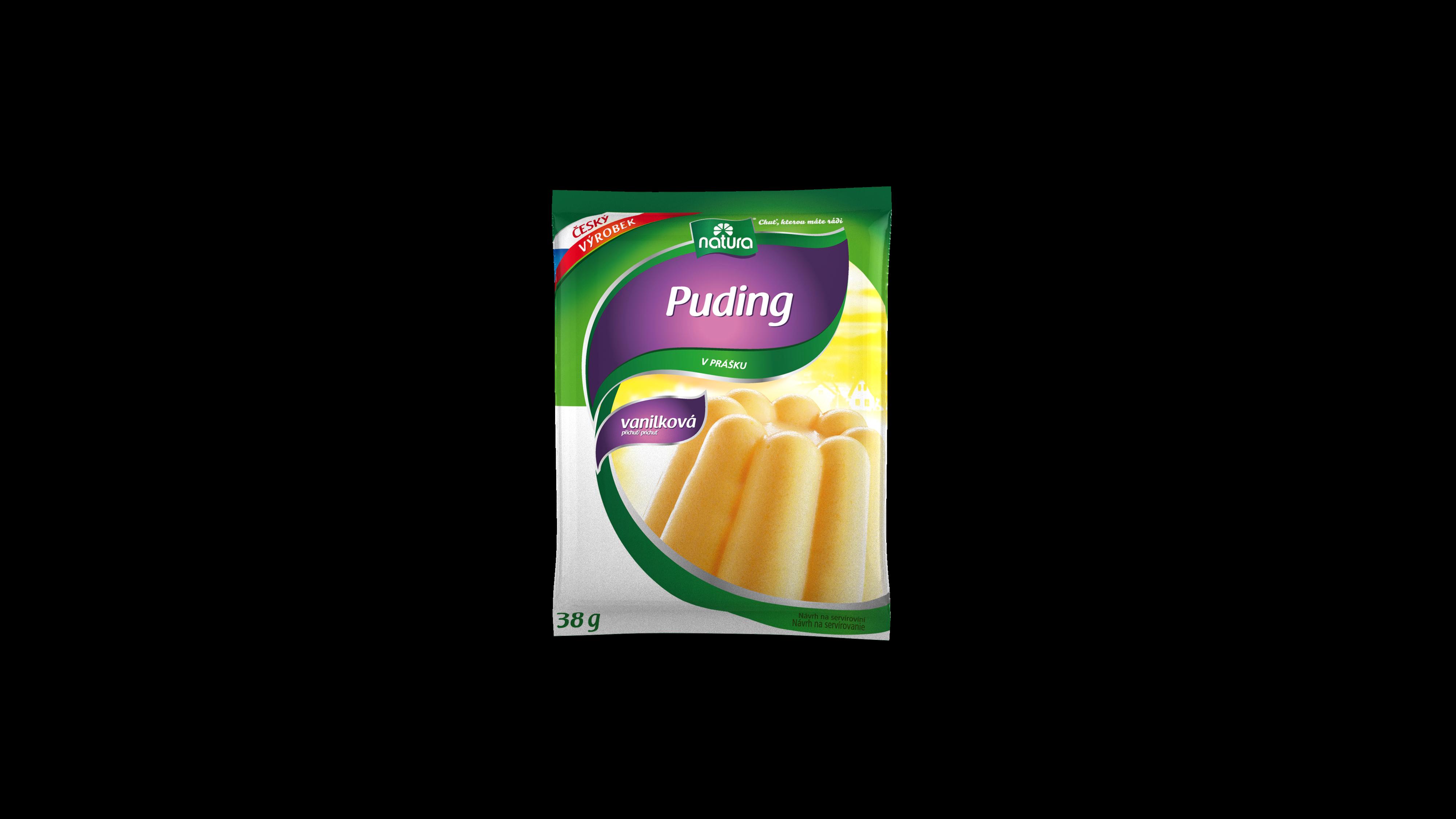 Značka Puding-vanilkovy