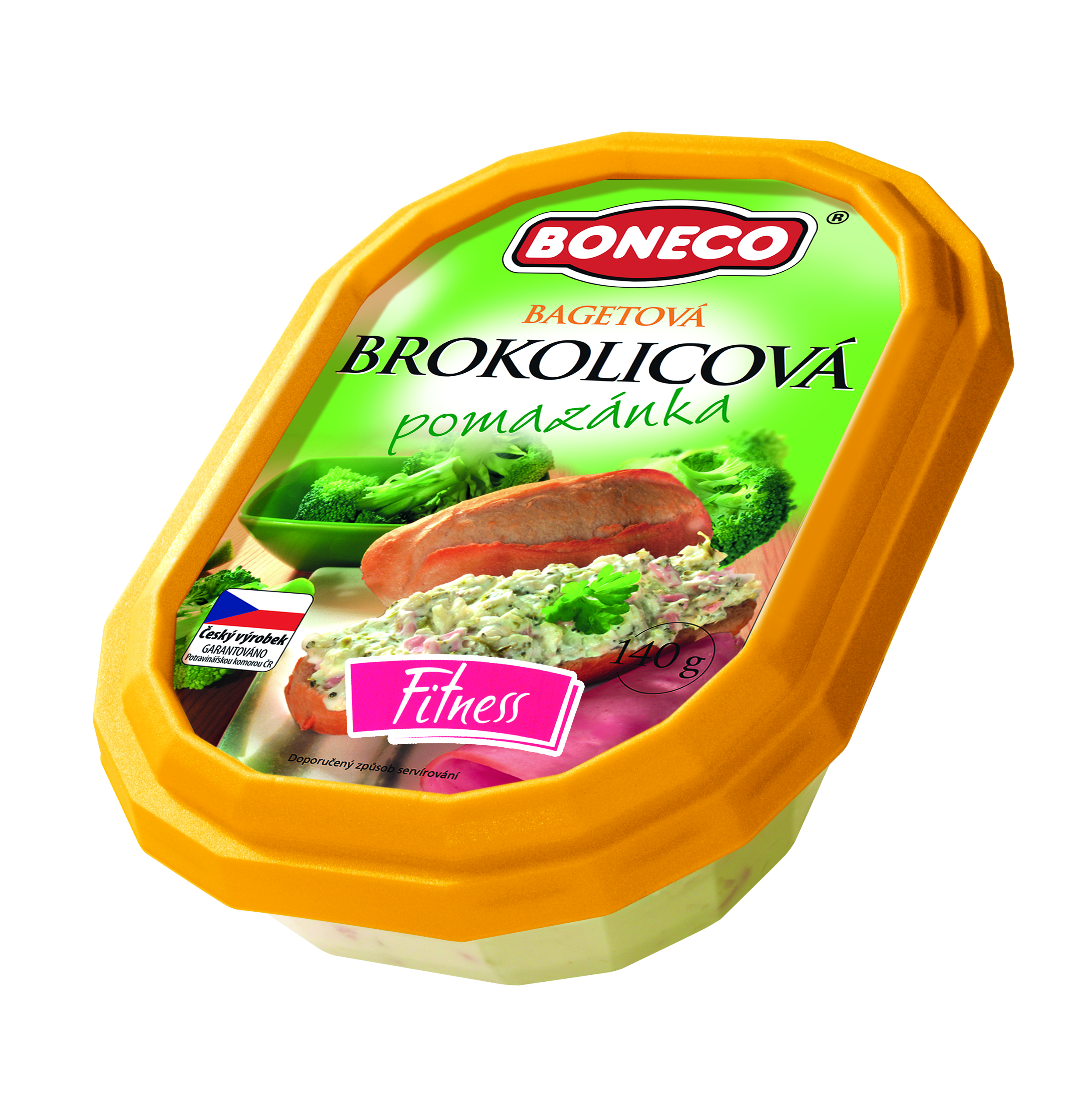 Značka Bagetová pomazánka brokolicová