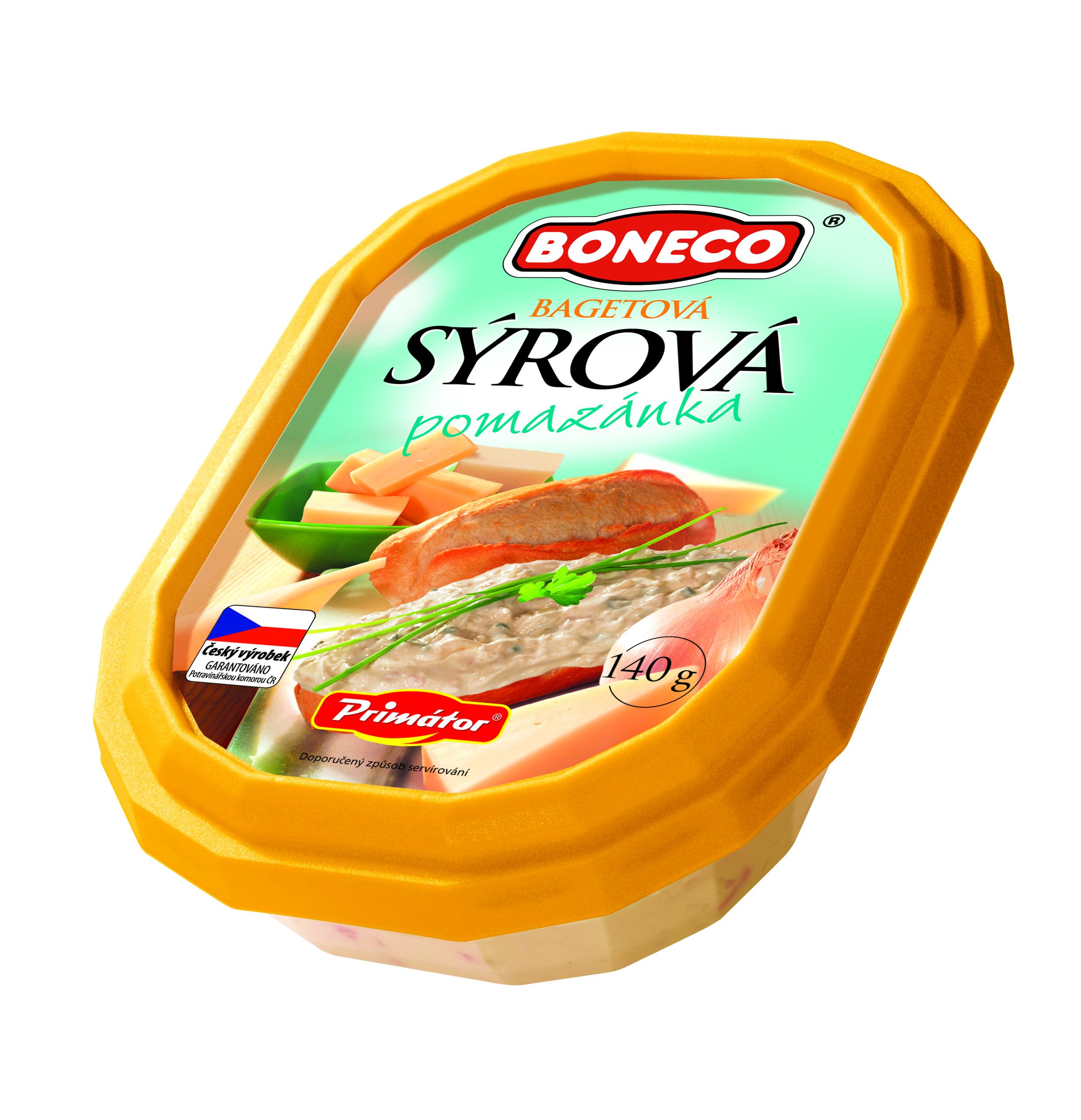 Značka Bagetová sýrová pomazánka